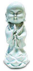 Small blue Buddha