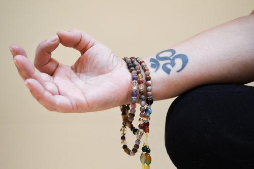 Hand with mala